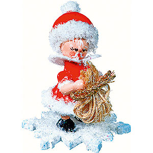 Small Figures & Ornaments Kuhnert Snowflakes Snowflake as Santa Claus - 5 cm / 2 inch