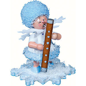 Small Figures & Ornaments Kuhnert Snowflakes Snowflake with Bassoon - 5 cm / 2 inch