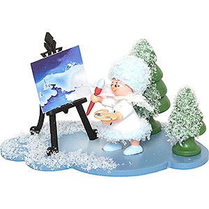 Small Figures & Ornaments Kuhnert Snowflakes Snowflake with Easel - 5 cm / 2 inch