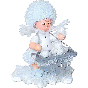 Small Figures & Ornaments Kuhnert Snowflakes Snowflake with Scoops of Ice - 5 cm / 2 inch