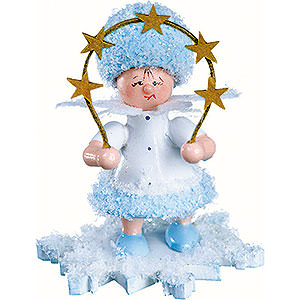 Small Figures & Ornaments Kuhnert Snowflakes Snowflake with Star Arch - 5 cm / 2 inch