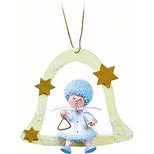 Tree ornaments Kuhnert Snowflakes Snowflake with Triangle - 7x7x4 cm / 2.8x2.8x1.6 inch