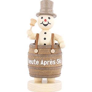 Small Figures & Ornaments Wagner Snowmen Snowman Apres Ski - 12 cm / 4.7 inch