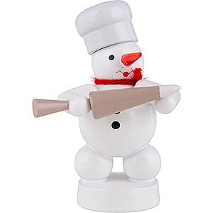 Small Figures & Ornaments Zenker Snowmen Snowman Baker with Decorating Bag - 8 cm / 3.1 inch