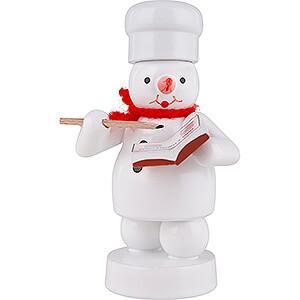 Small Figures & Ornaments Zenker Snowmen Snowman Baker with Recipe Book - 8 cm / 3.1 inch