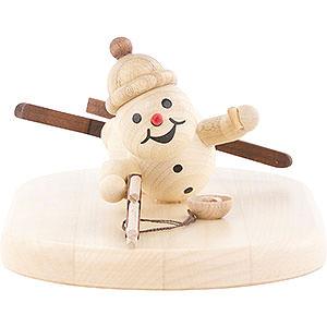 Small Figures & Ornaments Wagner Snowmen Snowman Biathlon lying - 5 cm / 2 inch