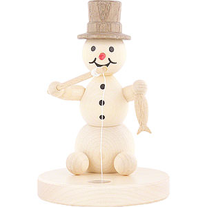 Small Figures & Ornaments Wagner Snowmen Snowman Ice Fisher - 8 cm / 3.1 inch