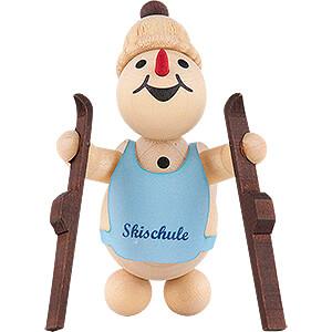 Small Figures & Ornaments Wagner Snowmen Snowman - Junior Ski Beginner