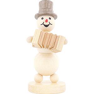 Small Figures & Ornaments Wagner Snowmen Snowman Musician Accordion - 12 cm / 4.7 inch