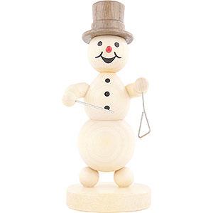 Small Figures & Ornaments Wagner Snowmen Snowman Musician Triangle - 12 cm / 4.7 inch