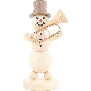 Small Figures & Ornaments Wagner Snowmen Snowman Musician Tuba - 12 cm / 4.7 inch