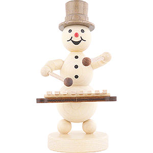 Small Figures & Ornaments Wagner Snowmen Snowman Musician Xylophone - 12 cm / 4.7 inch