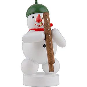 Small Figures & Ornaments Zenker Snowmen Snowman Musician with Bassoon - 8 cm / 3 inch