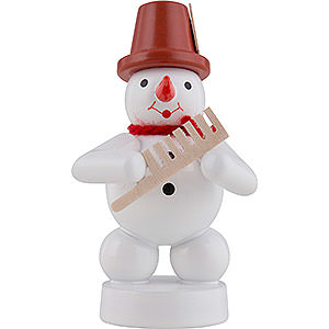 Small Figures & Ornaments Zenker Snowmen Snowman Musician with Comp - 8 cm / 3 inch