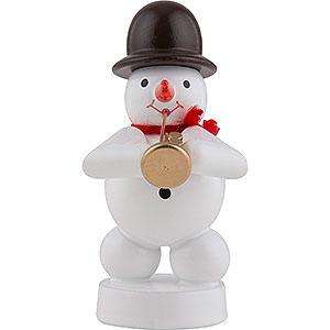 Small Figures & Ornaments Zenker Snowmen Snowman Musician with Jazz Trumpet - 8 cm / 3 inch