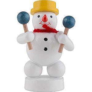 Small Figures & Ornaments Zenker Snowmen Snowman Musician with Maracas - 8 cm / 3 inch