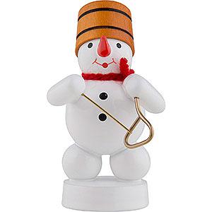 Small Figures & Ornaments Zenker Snowmen Snowman Musician with Triangle - 8 cm / 3 inch