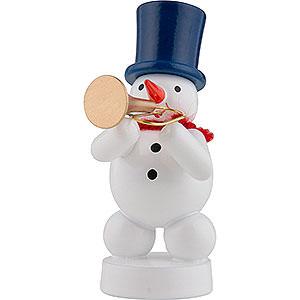 Small Figures & Ornaments Zenker Snowmen Snowman Musician with Trumpet - 8 cm / 3 inch