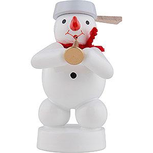 Small Figures & Ornaments Zenker Snowmen Snowman Musician with Tuba - 8 cm / 3 inch