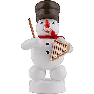 Small Figures & Ornaments Zenker Snowmen Snowman Musician with Xylophone - 8 cm / 3 inch