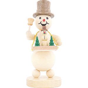 Small Figures & Ornaments Wagner Snowmen Snowman Vendor's Tray - 12 cm / 4.7 inch