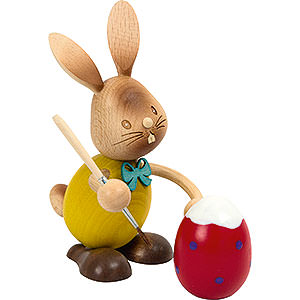 Small Figures & Ornaments Easter World Snubby Bunny Egg Painter - 12 cm / 4.7 inch
