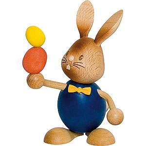 Small Figures & Ornaments Easter World Snubby Bunny Juggler - 12 cm / 4.7 inch