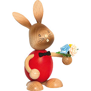 Small Figures & Ornaments Easter World Snubby Bunny Well Wisher - 12 cm / 4.7 inch