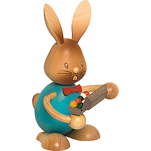 Small Figures & Ornaments Easter World Snubby Bunny with Egg Box - 12 cm / 4.7 inch