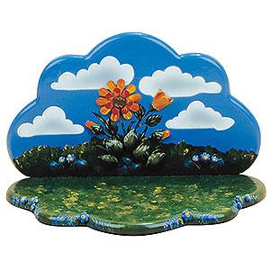 Kleine Figuren & Miniaturen Hubrig Blumenkinder Sommerwiese mit Blumenhimmel - 23x16x15 cm