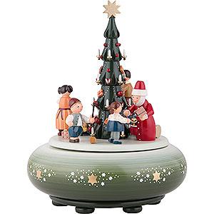 Spieldosen Weihnachten Spieldose Bescherung - 24 cm