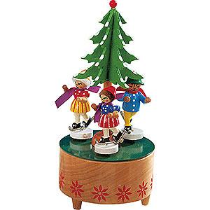 Spieldosen Jahreszeiten Spieldose Eiskünstler