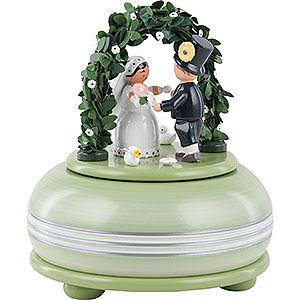 Spieldosen Diverse Motive Spieldose Hochzeitsfest - 15 cm