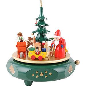 Spieldosen Weihnachten Spieldose Weihnachtsträume - 17 cm