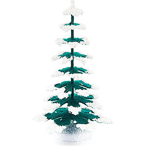 Small Figures & Ornaments Decorative Trees Spruce - Green-White - 11 cm / 4.3 inch
