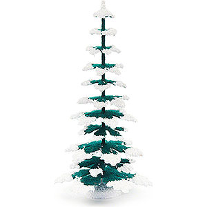 Small Figures & Ornaments Decorative Trees Spruce - Green-White - 15 cm / 5.9 inch