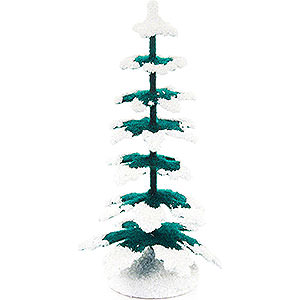 Small Figures & Ornaments Decorative Trees Spruce - Green-White - 9 cm / 3.5 inch
