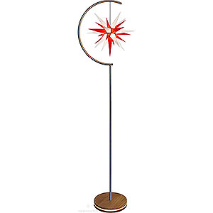 Advent Stars and Moravian Christmas Stars Herrnhuter Product Finder Star Lamp - Indoor use with I6 White/Red - 236 cm / 93 inch