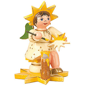 Small Figures & Ornaments Hubrig Star Kids Star Painter - 5 cm / 2 inch