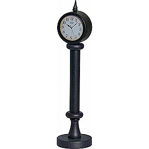 Smokers Smoking Vehicles Station Clock for KWO Railroad - 29 cm / 11.4 inch