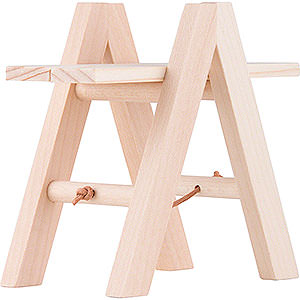 Small Figures & Ornaments Näumanns Wicht Stepladder with 2 Boards - 5 cm / 2 inch