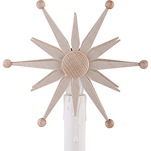 Schwibbögen Schwibbogen-Zubehör Stern zum Aufstecken für Elektro-Schwibbögen - 10 cm