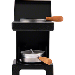 Smokers All Smokers Stool Cooker 'The Lil' One' Black - 9 cm / 3.5 inch