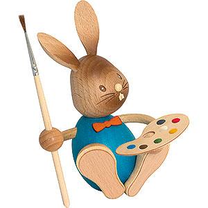 Kleine Figuren & Miniaturen Osterartikel Stupsi Hase Künstler - 12 cm