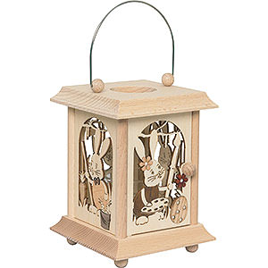 Small Figures & Ornaments Easter World Table Lantern Snubby - 24 cm / 9.4 inch