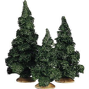 Weihnachtsengel Günter Reichel Dekoration Tanne ohne Stamm Sortiert, 3 Stück - 13 cm