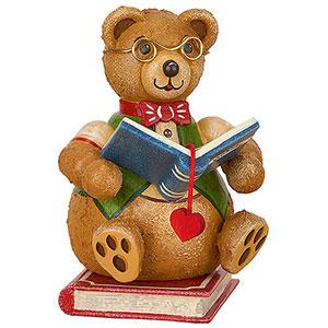 Gift Ideas Heartfelt Wish Teddy mini - Bookworm - 7 cm / 2.8 inch