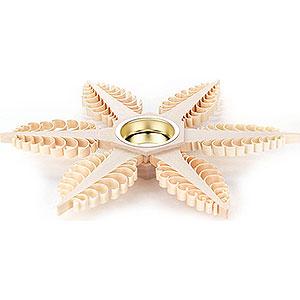 Lichterwelt Kerzenhalter Sonstige Teelichthalter Spanstern - 23 x 23 x 2,5 cm