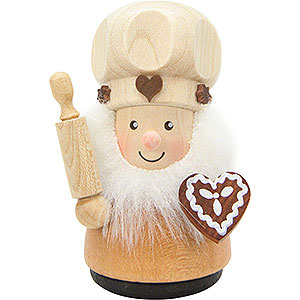 Small Figures & Ornaments Teeter figurines Teeter Man Confectioner Natural - 8,0 cm / 3.1 inch