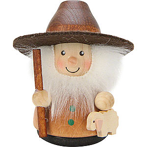 Small Figures & Ornaments Teeter figurines Teeter Man Shepherd Natural - 7,5 cm / 3 inch